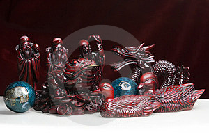 Feng Shui Statues Stock Photos - Image: 23746053