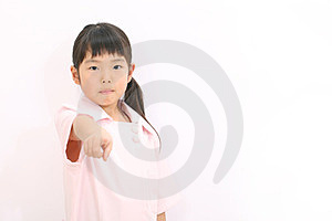 A Little Girl Nurse Royalty Free Stock Photography - Image: 23764367