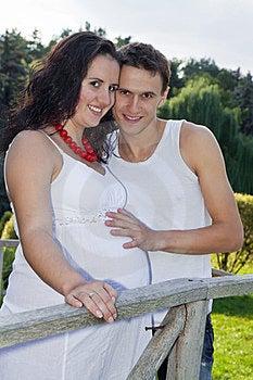 Pregnant Couple Stock Photos - Image: 23764783