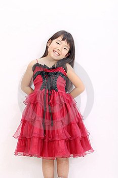 A Little Asian Girl Royalty Free Stock Image - Image: 23768176