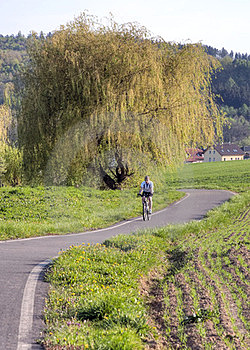 Cycling Path Royalty Free Stock Image - Image: 23769456