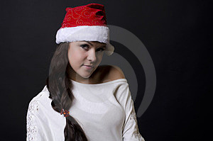 New Year Girl Stock Photography - Image: 23774732