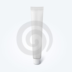 Blank Thin Cosmetic Tube Stock Photos - Image: 23778953