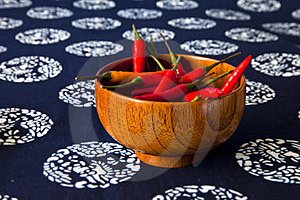 A Bowl Of Peppers Royalty Free Stock Images - Image: 23779969