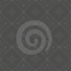 Symmetrical Seamless Vector Background Pattern. Royalty Free Stock Photo - Image: 23782745