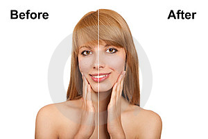 Before And After Royalty Free Stock Photos - Image: 23791448
