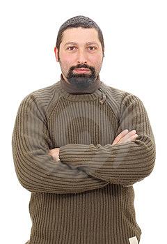 Man Crossed Arms Stock Images - Image: 23799274