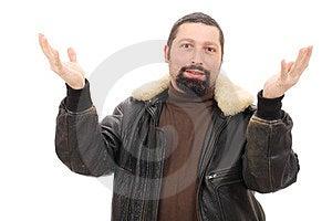 Confused Man Fotografering för Bildbyråer - Bild: 23799791