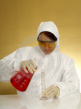 Beautiful Female Scientist Royalty Free Stock Photography - Image: 2381287