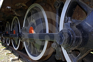 Old Train Wheels Stock Photography - Image: 2382002