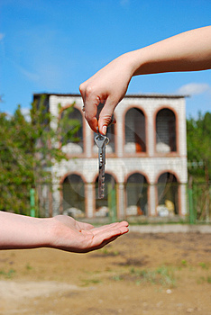 Keys of new house Stock Image