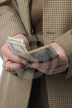 To have money to burn Stock Image