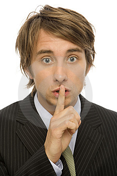Businessman Wispers Royalty Free Stock Images - Image: 2386139