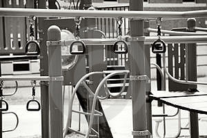 An Outdoor Jungle Gym Stock Photography