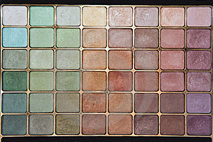 Eyeshadow Palette Royalty Free Stock Image - Image: 23802156