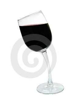 Drunk Glass Royalty Free Stock Image - Image: 23803666