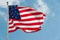 USA Country Flag Stock Photography