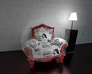 Armchair Stock Image - Image: 23834571