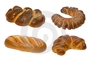 Bread Collage Stock Image - Image: 23840741