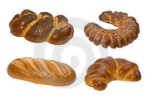 Коллаж хлеба Стоковое Изображение - изображение: 23840741