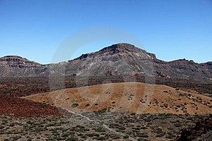 Lava Fields On The Spanish Island Of Tenerife Royalty Free Stock Image - Image: 23842946