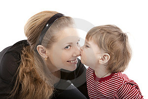Image Mother And Son Stock Photography - Image: 23851492