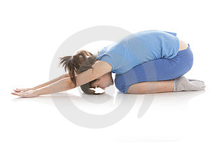 Image Of A Girl Practicing Yoga Stock Photo - Image: 23851560