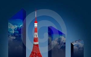 Tokyo Tower Royalty Free Stock Image - Image: 23854086