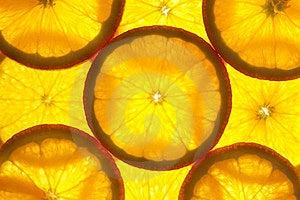Orange Slices Background / Macro Stock Image - Image: 23859131
