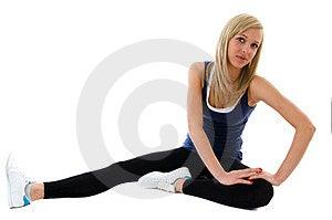 Stomach Exercises Royalty Free Stock Photos - Image: 23861318