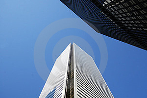 Skyscrapers-office Building In Downtown Toronto Stock Images - Image: 23864384