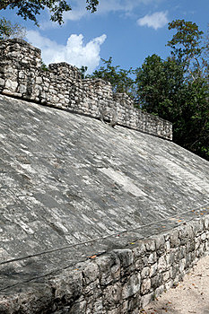 Ancient Mayan Ball Court Stock Photography - Image: 23879582