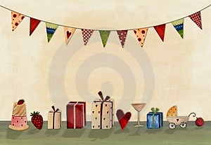 Happy Birthday. Greeting Card Stock Photos - Image: 23885333
