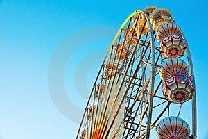 Ferris Wheel At  Sunrise Stock Image - Image: 23886671