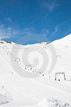 Ski Fahren In Den Alpen Stockfoto - Bild: 23896080