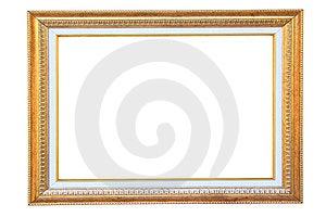 Vintage Gold Wood Frame Royalty Free Stock Images - Image: 23896279