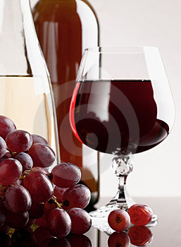Wine And Grape Stock Photography - Image: 23898382