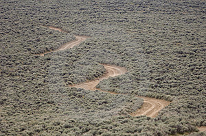 Windy Gravel Road Stock Images - Image: 2393184