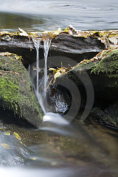 Creek Weir Stock Photo - Image: 23901400