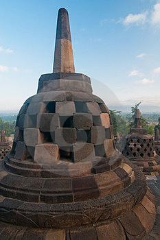 Borobudur Temple, Central Java, Indonesia Royalty Free Stock Images - Image: 23904769