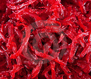 Red Beet Is Cut Small Royalty Free Stock Images - Image: 23909979