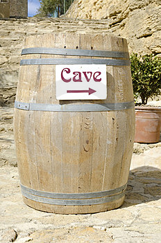 Cask Of Wine Cellar Royalty Free Stock Photo - Image: 23919665