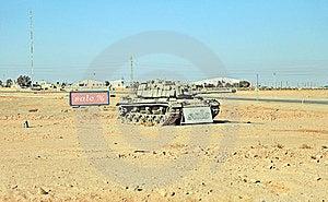 Desert Tank Royalty Free Stock Photography - Image: 23920177