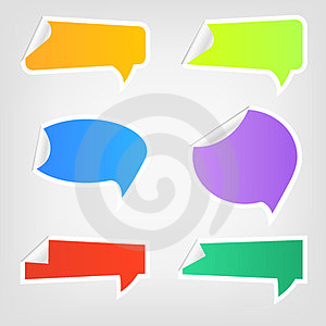 Speech Icons 2 Royalty Free Stock Images - Image: 23920559