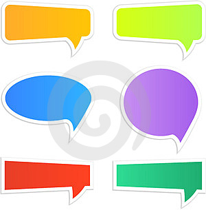 Speech Icons Stock Photography - Image: 23920562