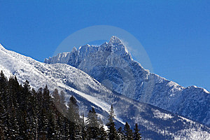 Winter In Glacier National Park Royalty Free Stock Photo - Image: 23922745