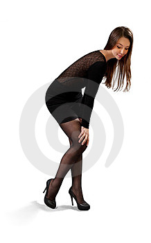 Sexy Flirtatious Cutie Royalty Free Stock Photography - Image: 23923807