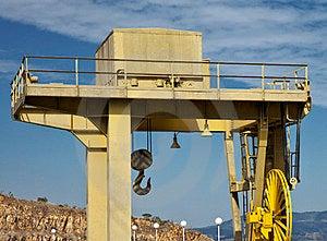 Yellow Crane Royalty Free Stock Photo - Image: 23924305