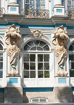 The Catherine Palace, Town Tsarskoye Selo, Russia Royalty Free Stock Photography - Image: 23925627