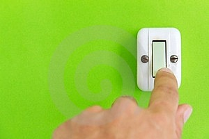 Turn Off The Light Stock Photography - Image: 23927022